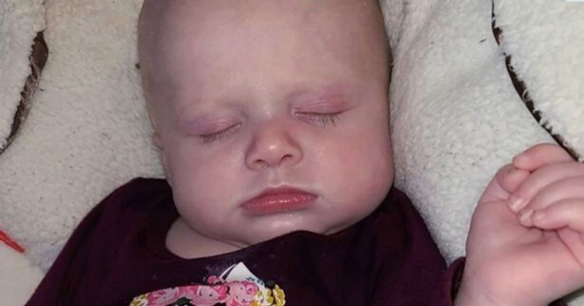 baby5.jpg?resize=412,232 - Four-Month-Old Baby Girl Dies After Pet Dog Was Found Lying On Her