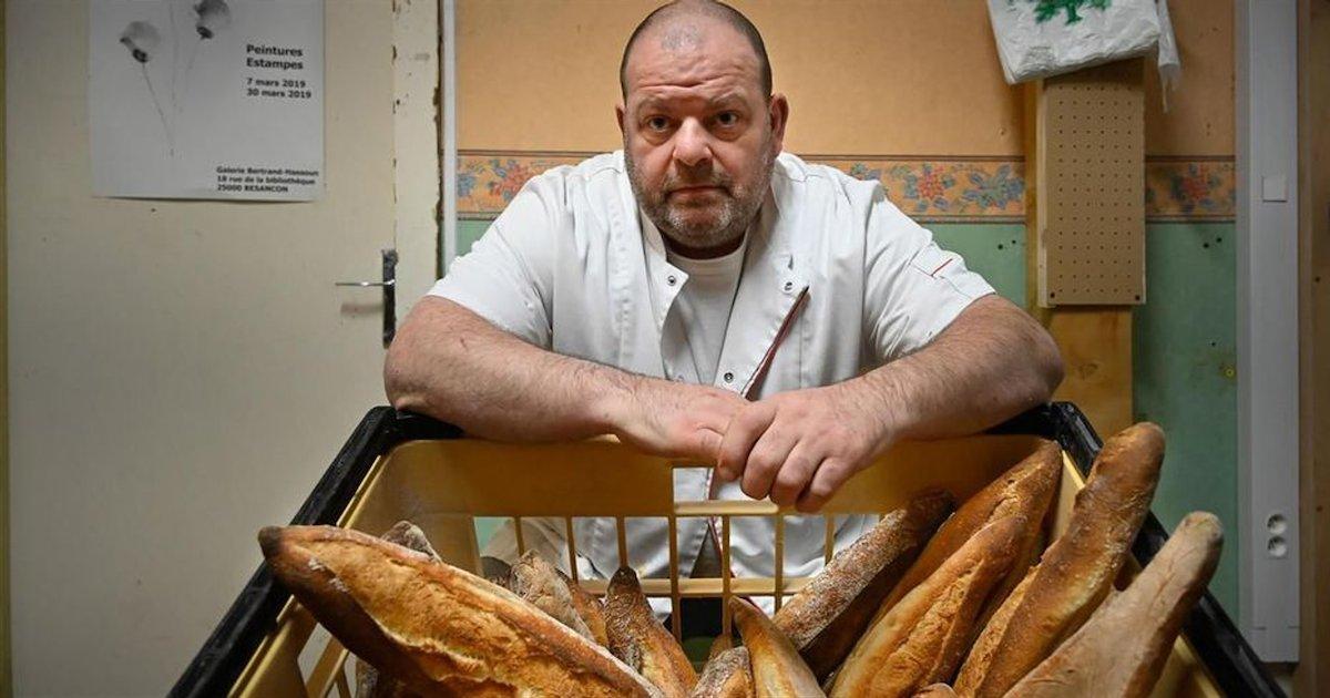 boulanger 1.png?resize=1200,630 - Le boulanger de Besançon en grève de la faim a été conduit aux urgences suite à un malaise
