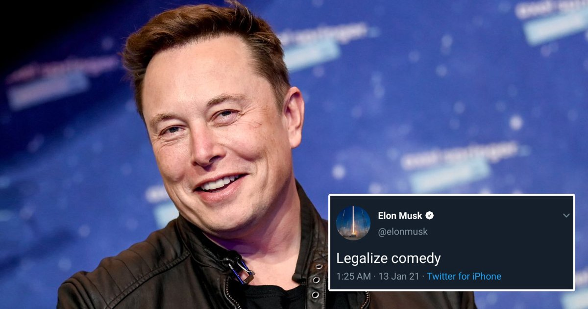 ddgg.jpg?resize=412,232 - Elon Musk's Bizarre Tweet 'Legalize Comedy' Puts Social Media In A Frenzy