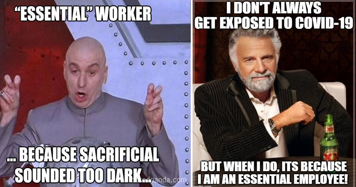 eee.jpg?resize=1200,630 - These Essential Employee Memes Are Paying Tribute To Those That Mean Most