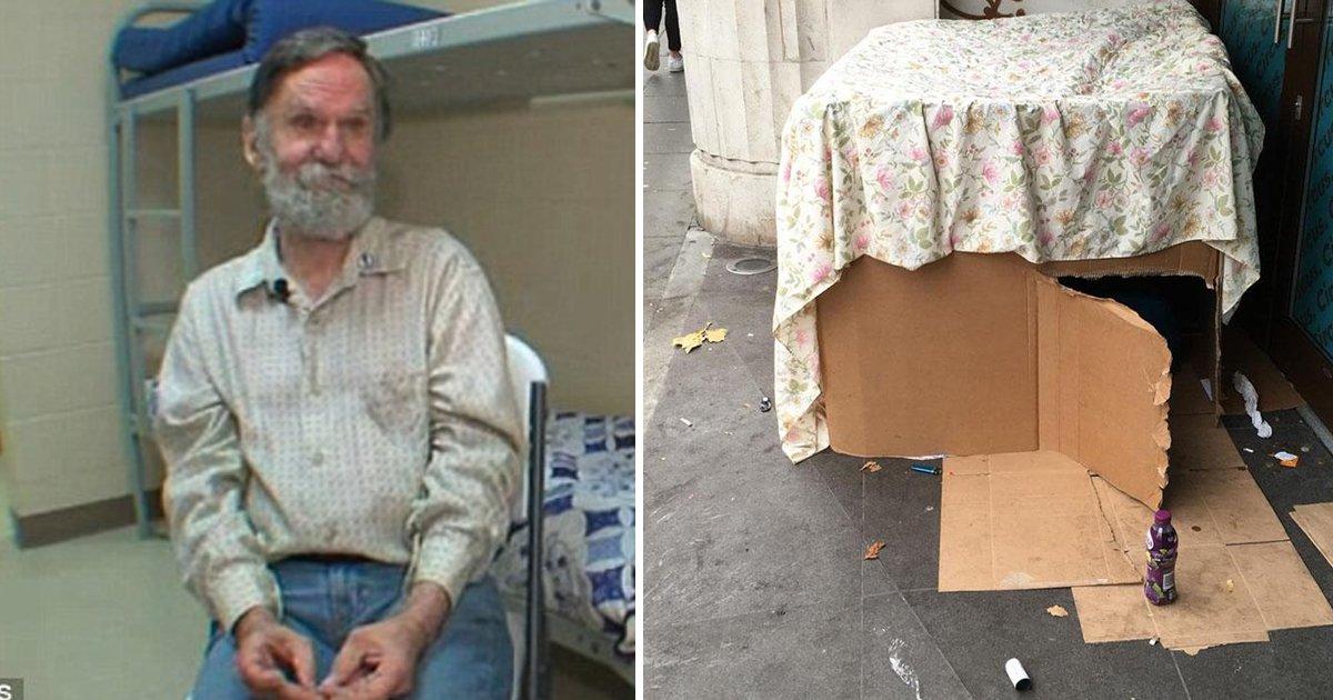 ererrr.jpg?resize=1200,630 - Homeless Man Living In Cardboard Box For Years Discovers Forgotten Bank Account
