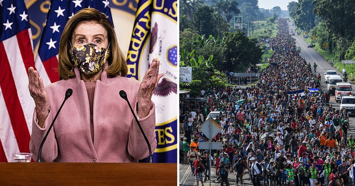 erett.jpg?resize=1200,630 - Nancy Pelosi Praises Biden's 'High Profile' Immigration Bill Calling It 'Basic Principles'