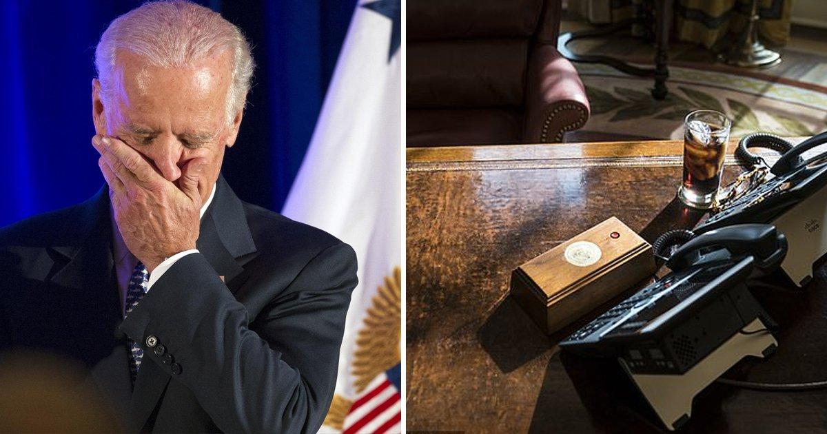 errggsg.jpg?resize=1200,630 - Joe Biden Removes Donald Trump's 'Diet Coke Button' From Oval Office Desk