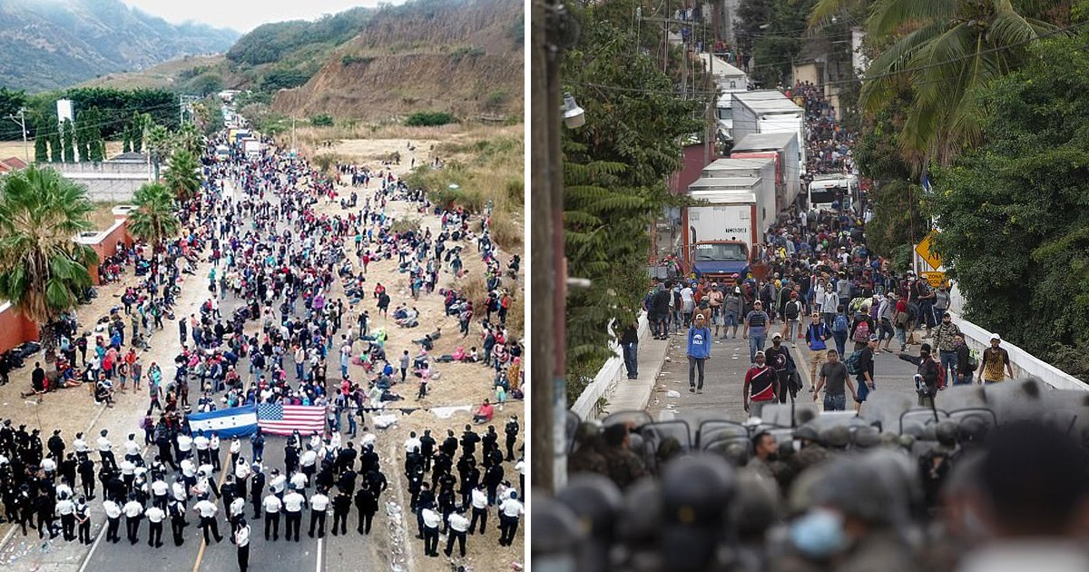 ertty.jpg?resize=412,232 - 8000 Migrants Flee To US Border In Hopes Of Gaining Shortest Path To US Citizenship