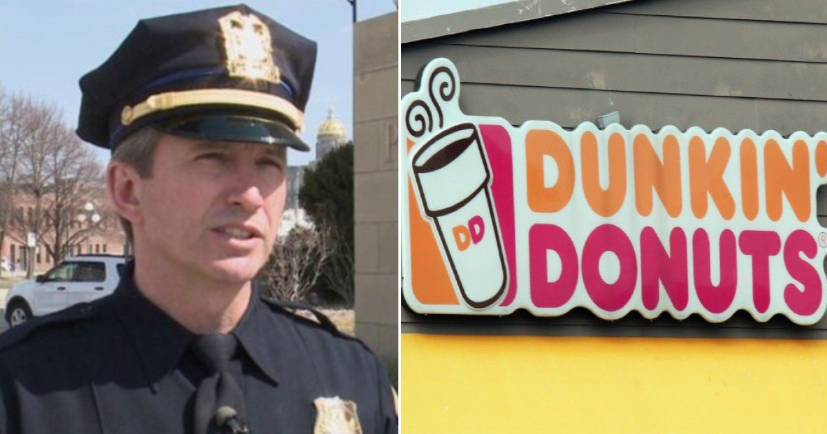 fgsdgsg 1 8 1.jpg?resize=1200,630 - Dunkin' Donuts Employees Refused To Serve Off-Duty Police Officer Who Wore A 'Thin Blue Line' Cap