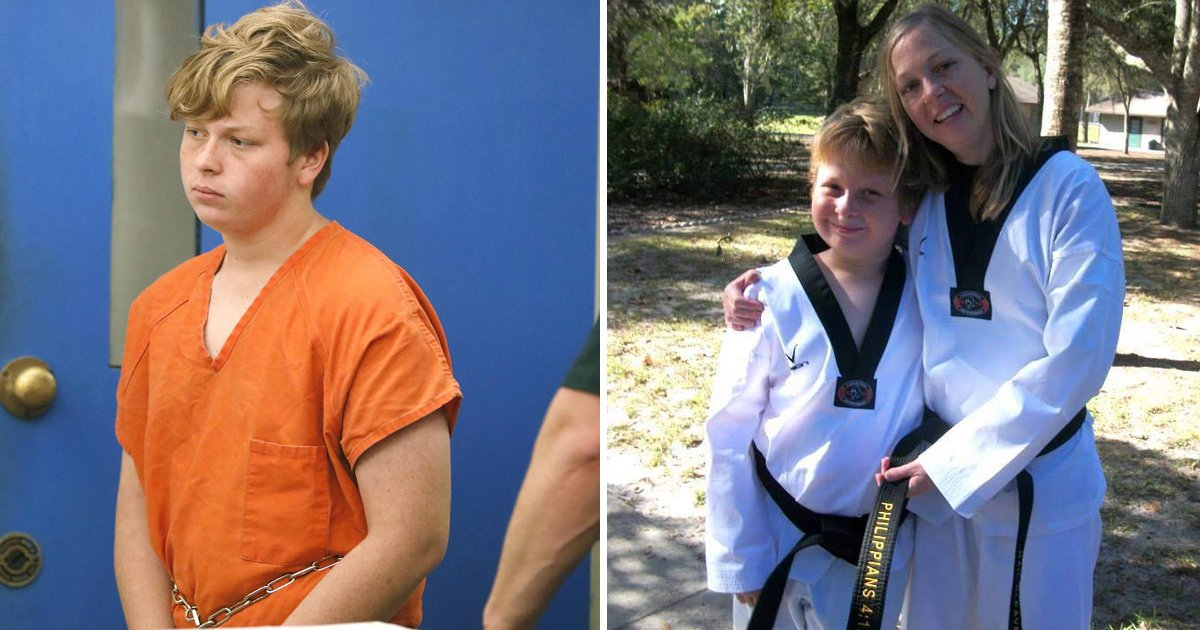 gahah.jpg?resize=1200,630 - Florida Teen Who Strangled Mum To Death Over Bad Grade Gets 45 Years In Jail