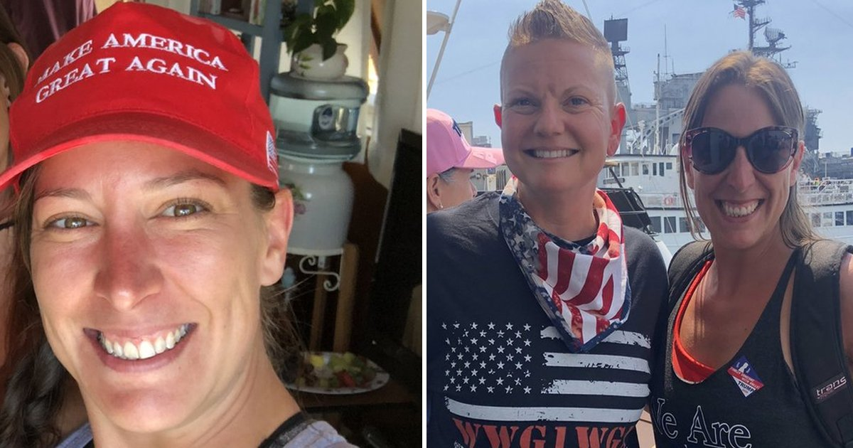 gahhhh.jpg?resize=412,232 - Female Shot By Cops In US Capitol Was Trump Supporter Who Embraced Conspiracies