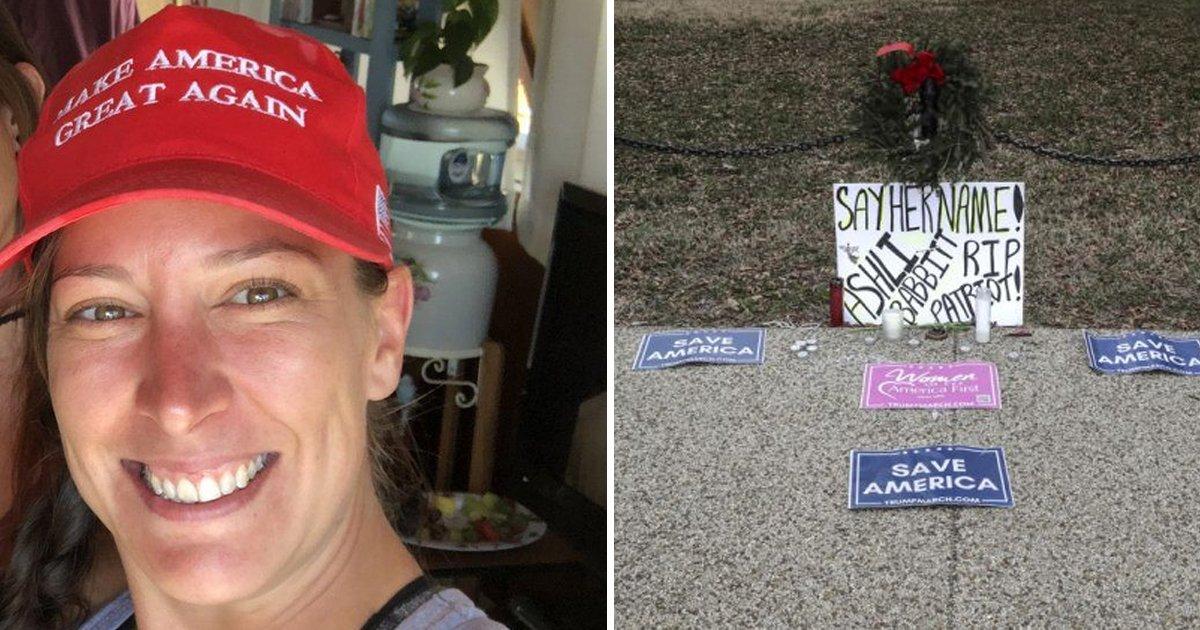 gfdg.jpg?resize=1200,630 - MAGA Rioter Ashli Babbitt Who Cops Shot Dead Said Trump 'Was Worth Dying For'