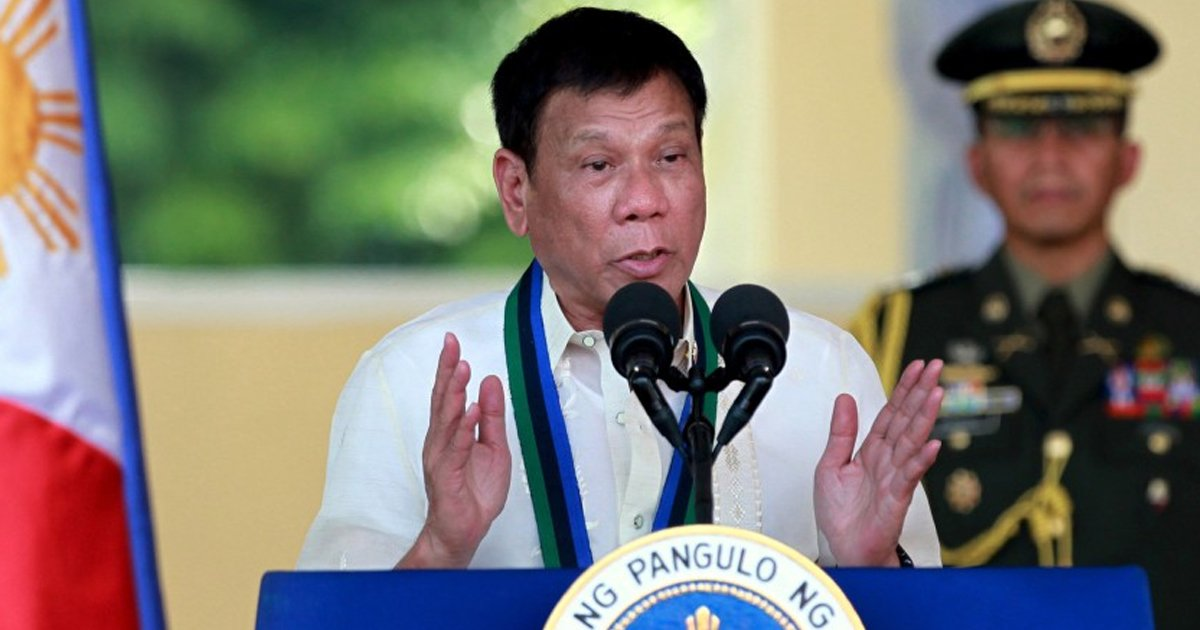 gggggggggs.jpg?resize=1200,630 - Philippines Head Of State Declares Presidency As A Job 'Unfit For Women'