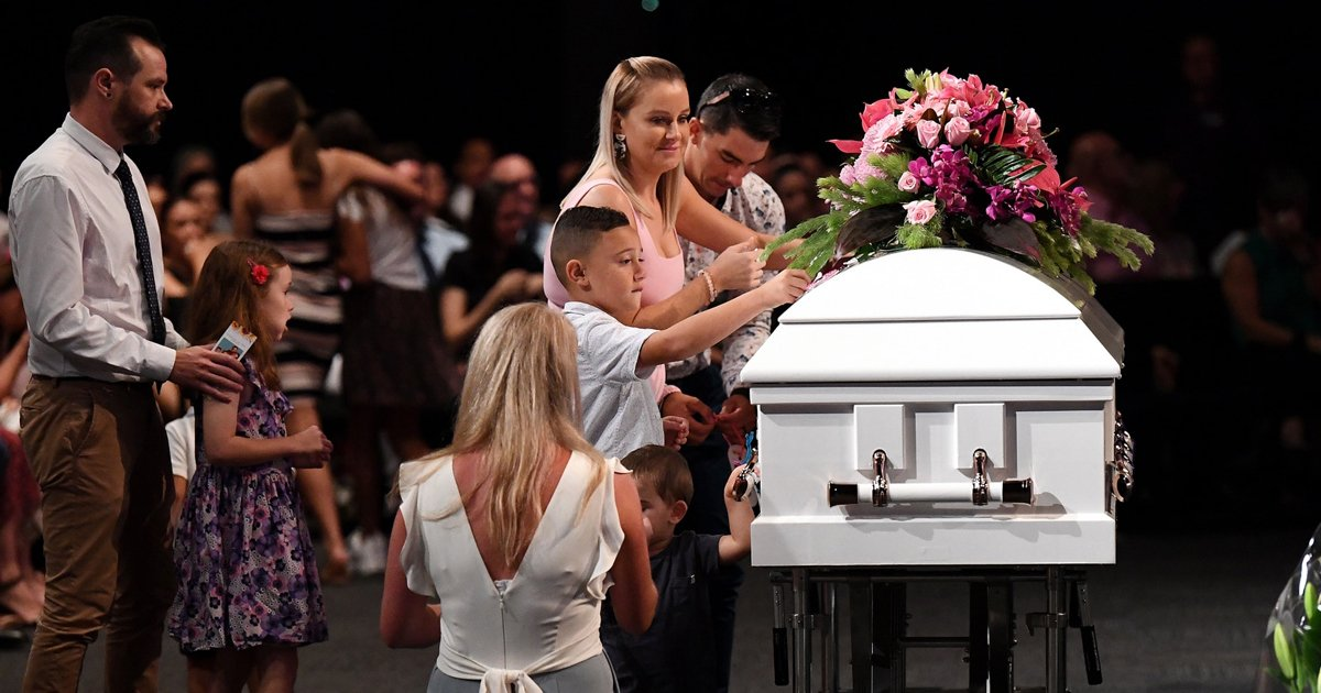 gsgsgsss.jpg?resize=412,232 - Murdered Mum & Her 3 Kids Farewelled In Single Coffin At Funeral Service