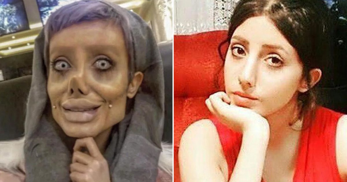 gshhh.jpg?resize=1200,630 - Zombie Angelina Jolie Look-Alike Sahar Tabar Did Not Have 50 Surgeries