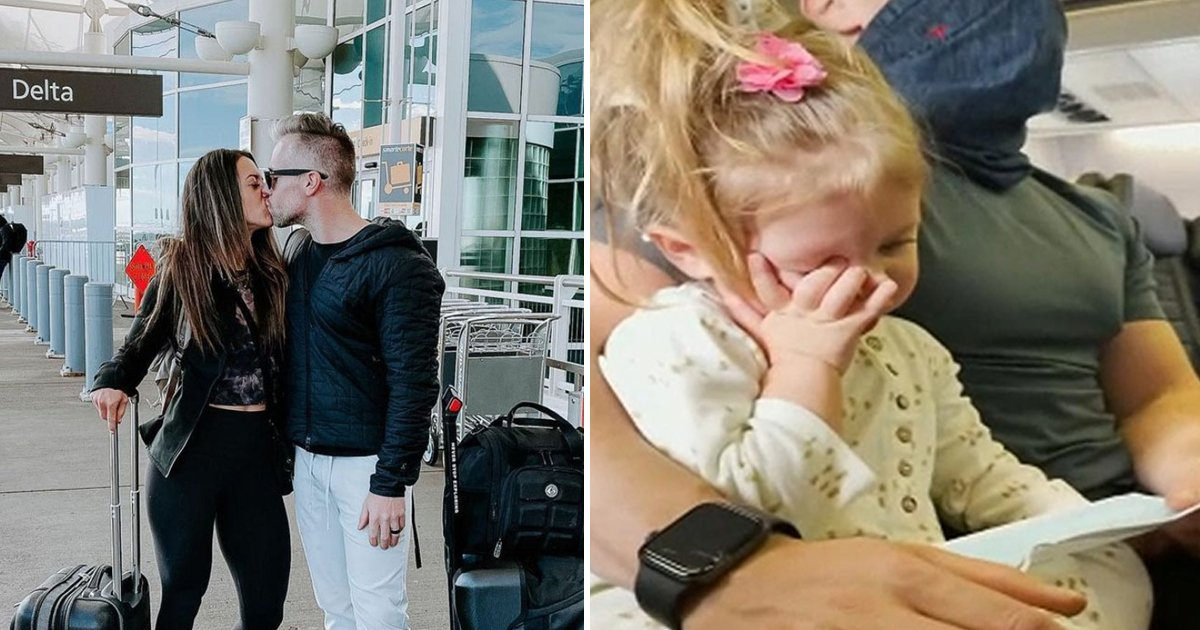 hahahh.jpg?resize=1200,630 - Couple Travel Without Toddler Who Was Kicked Off Flight For Refusing To Wear Mask