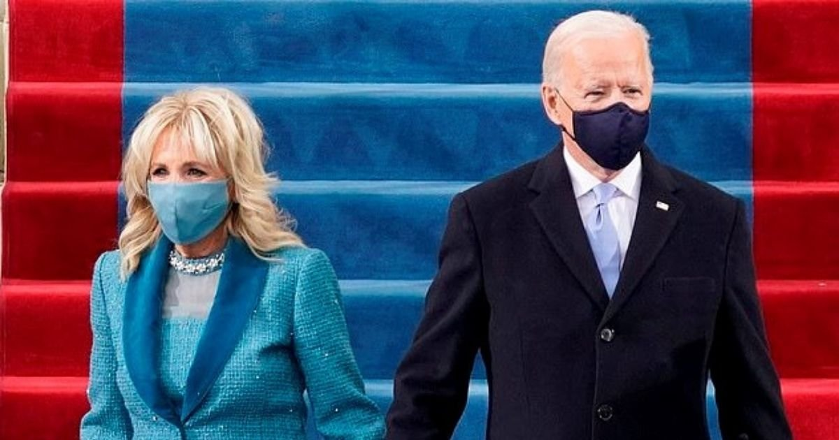 jill5.jpg?resize=412,232 - First Lady Jill Biden Wins High Praise For Her 'Elegant' And 'Classy' Inauguration Display