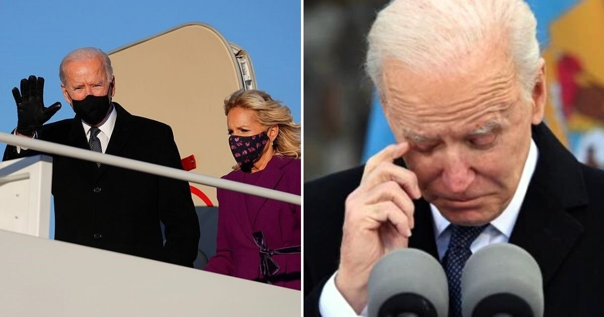 joe5.jpg?resize=412,232 - Biden And Family Arrive In Washington DC On Charter Plane After Trump Refused To Send Them A Government Plane