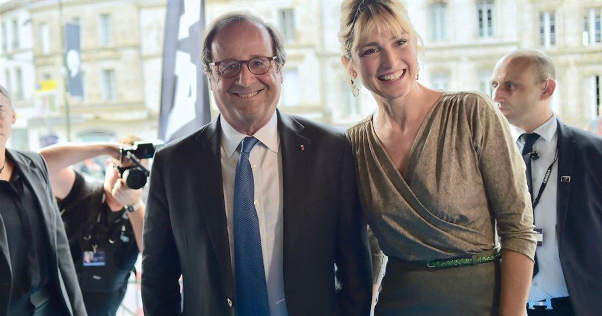 julie gayet.png?resize=412,232 - Julie Gayet et François Hollande ensemble à une soirée consacrée à Benjamin Biolay