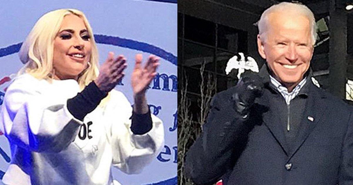 ladygaga joebiden pittsburgh pennsylvania e1610643200332.jpg?resize=300,169 - Lady Gaga chanteral'hymne américainpour l'inauguration de Joe Biden-Kamala Harris