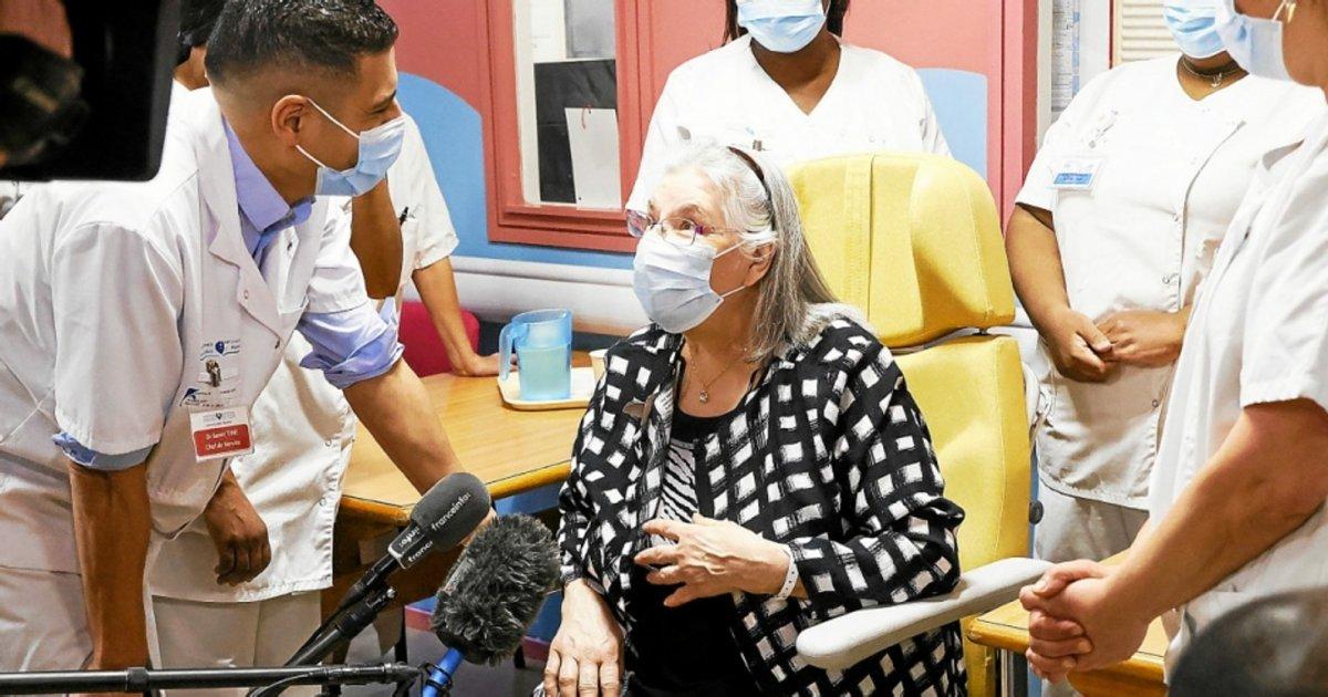 mauricette e1611009357305.png?resize=412,232 - Mauricette, la première Française vaccinée contre le Covid-19, n'est pas morte
