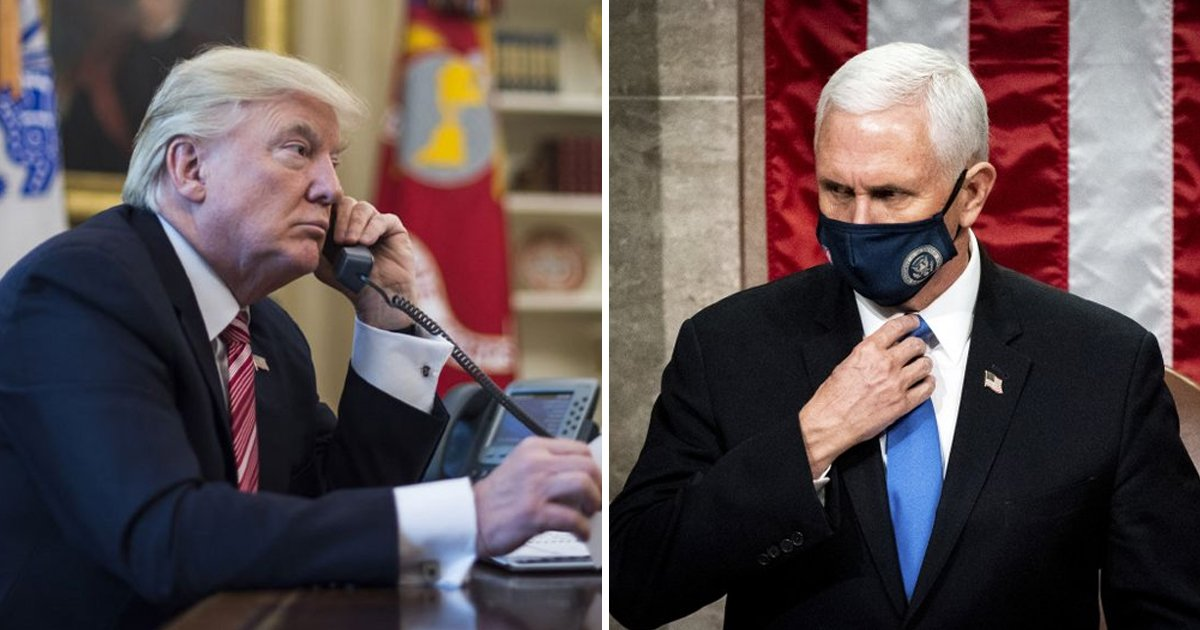 rerer.jpg?resize=1200,630 - Phone Call Reveals Trump Cursed Pence Hours Before MAGA Riots Ransacked Capitol