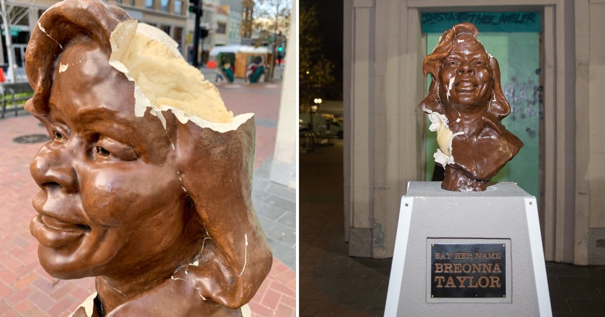 rrtgg.jpg?resize=1200,630 - Breonna Taylor Sculpture Stolen Days After Being Smashed Into Pieces In Oakland
