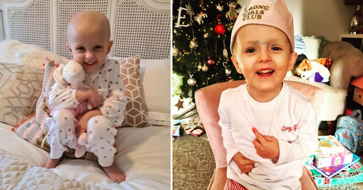 rsggsg.jpg?resize=412,232 - Brave 2-Year-Old Girl Wins Fight Against 'Deadliest' Cancer For Kids