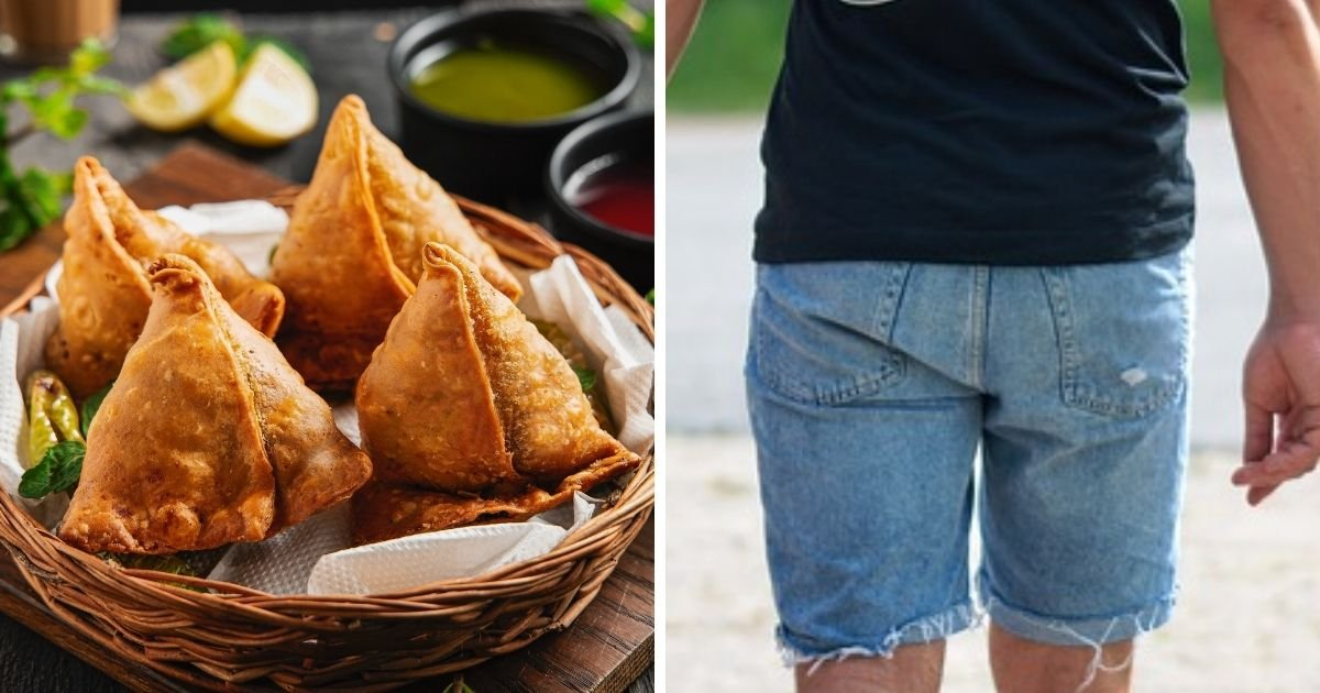 samosa5.jpg?resize=1200,630 - Man Shoves Samosa Up His Bum So He Can Nibble On It In Prison Cell
