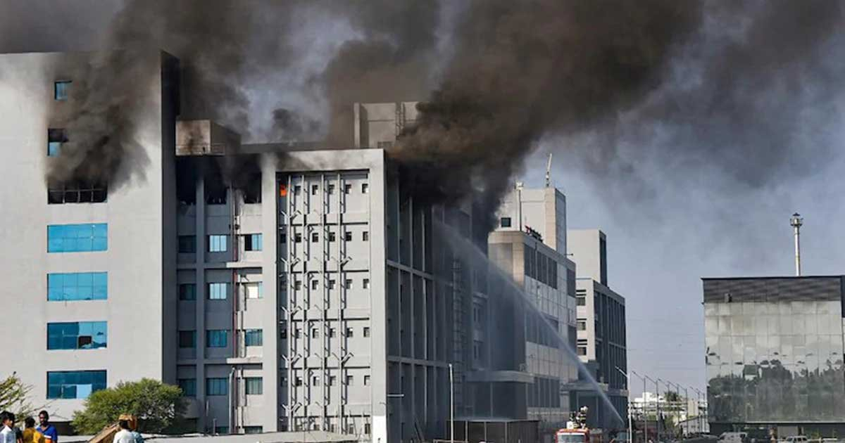 serum institute fire pti 1200x768.jpg?resize=1200,630 - Fire Hits World's Largest Vaccine Manufacturer