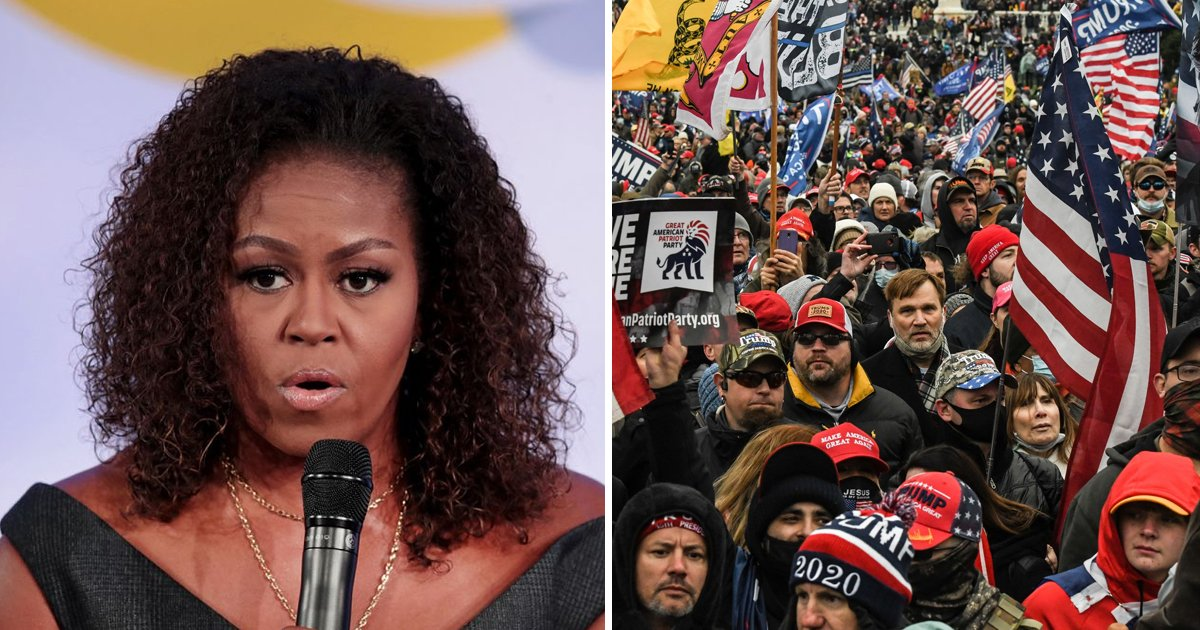 sfgg.jpg?resize=1200,630 - Michelle Obama Reflects On Capitol Siege, Blasts Cops For Letting MAGA Rioters Go