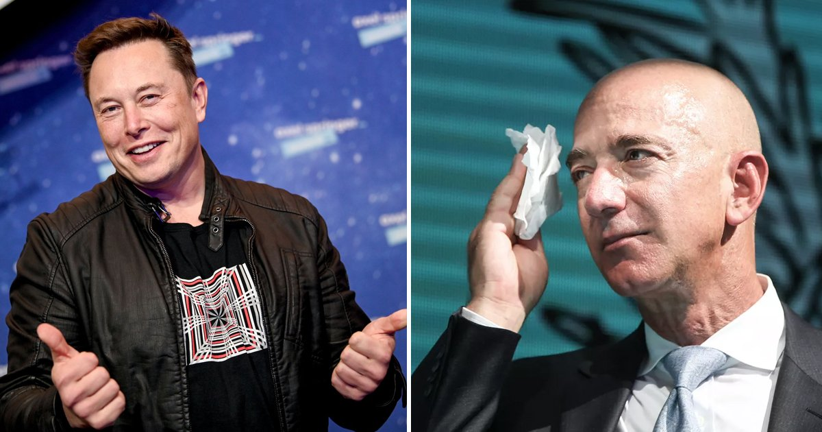 shshh.jpg?resize=1200,630 - Elon Musk Leaves Behind Amazon's Jeff Bezos To Become 'World's Richest Person'