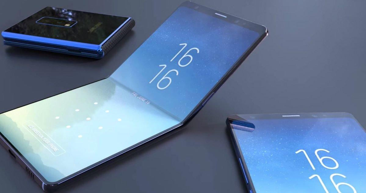 smartphone pliable samsung galaxy x e1610465170330.jpg?resize=412,275 - Le froid extrême pourrait abîmer l'écran des smartphones pliants de Samsung