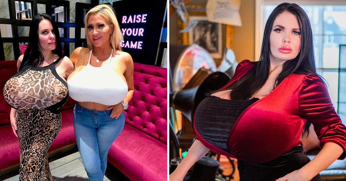ssdddd.jpg?resize=1200,630 - Model With 'Double Z Cup' Cleavage Claims She'll Never Stop Getting Enlargements