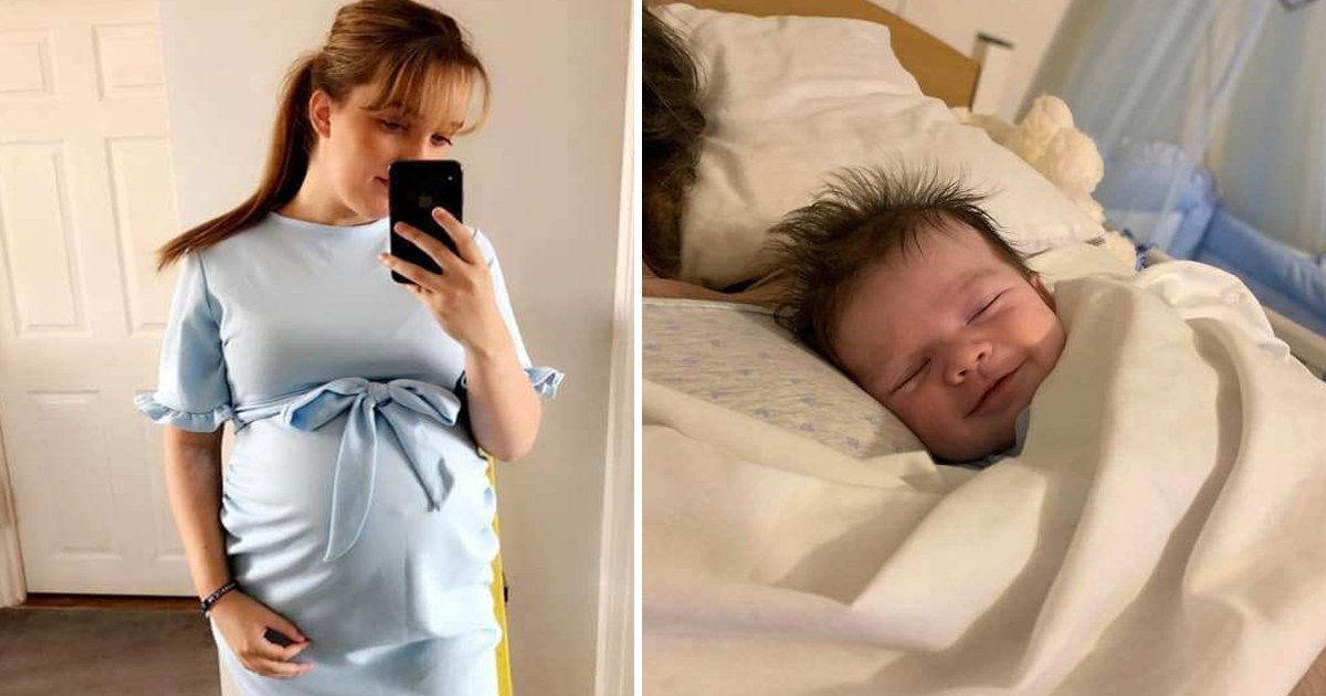 tetrtg.jpg?resize=412,232 - Tragic Photo Shows Teen Mother Cradling Newborn She Never Got To Meet