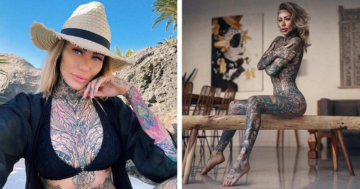 titulo 11 2.png?resize=1200,630 - Mujer Decide Cubrir Completamente Cu Cuerpo Con Tatuajes Y Gasta Más De 40 Mil Dólares