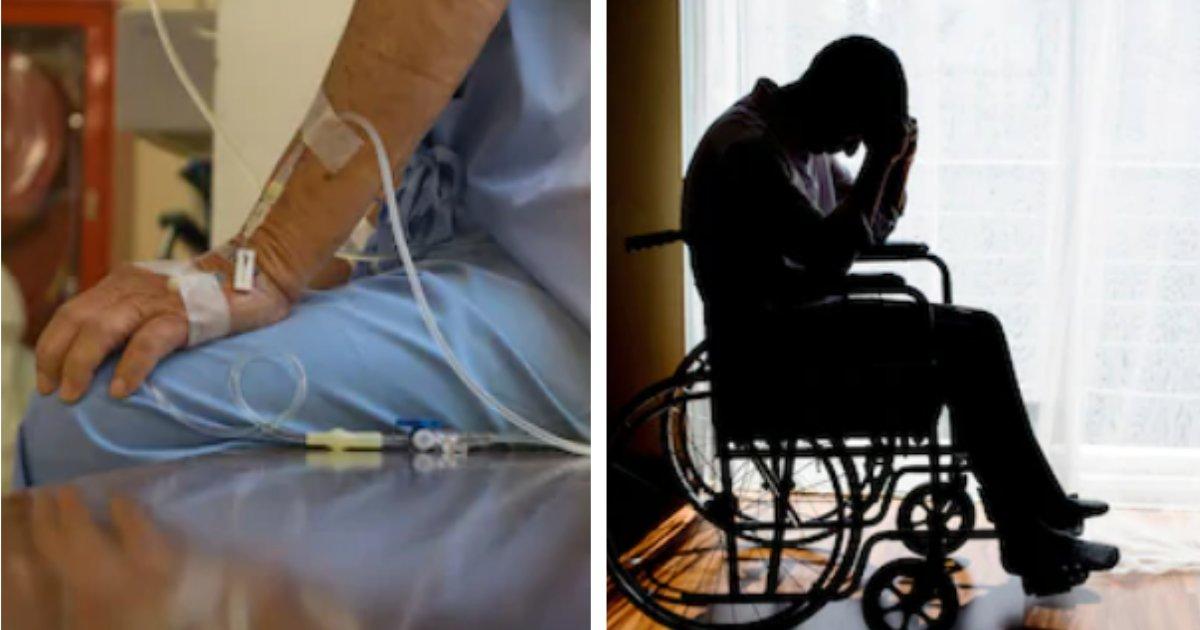 titulo 12 3.png?resize=412,275 - Hombre Soporta 5 Años De Quimioterapia Para El cáncer Que Nunca Tuvo
