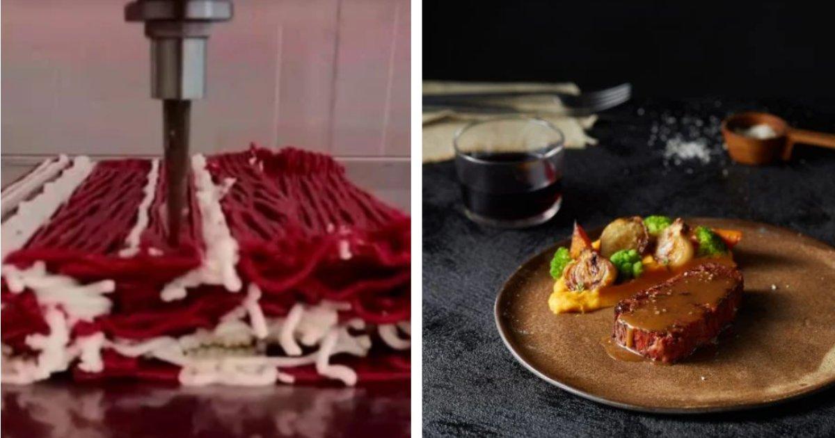 titulo 7 3.png?resize=1200,630 - Compañía Presenta Bistec Sin Carne Impreso En 3D