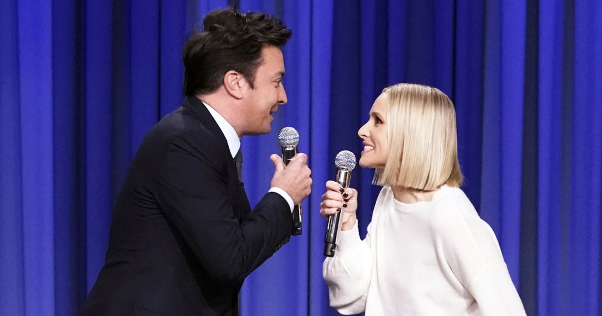 trrtt.jpg?resize=412,232 - This Jimmy Fallon And Kristen Bell Duet Is What Vocal Dreams Are Made Of