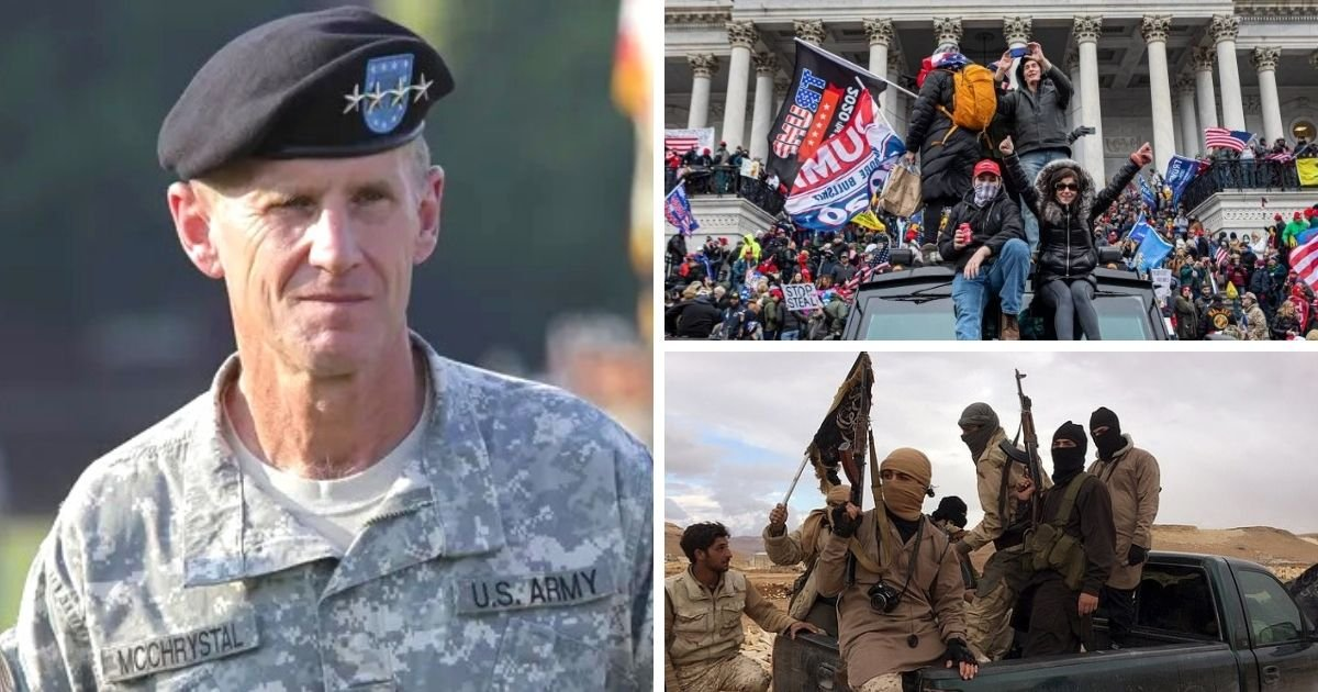 untitled design 14 1.jpg?resize=412,232 - General McChrystal Compares Far-Right Extremists To Al-Qaeda As He Warns Of The Development Of A Dangerous Ideology