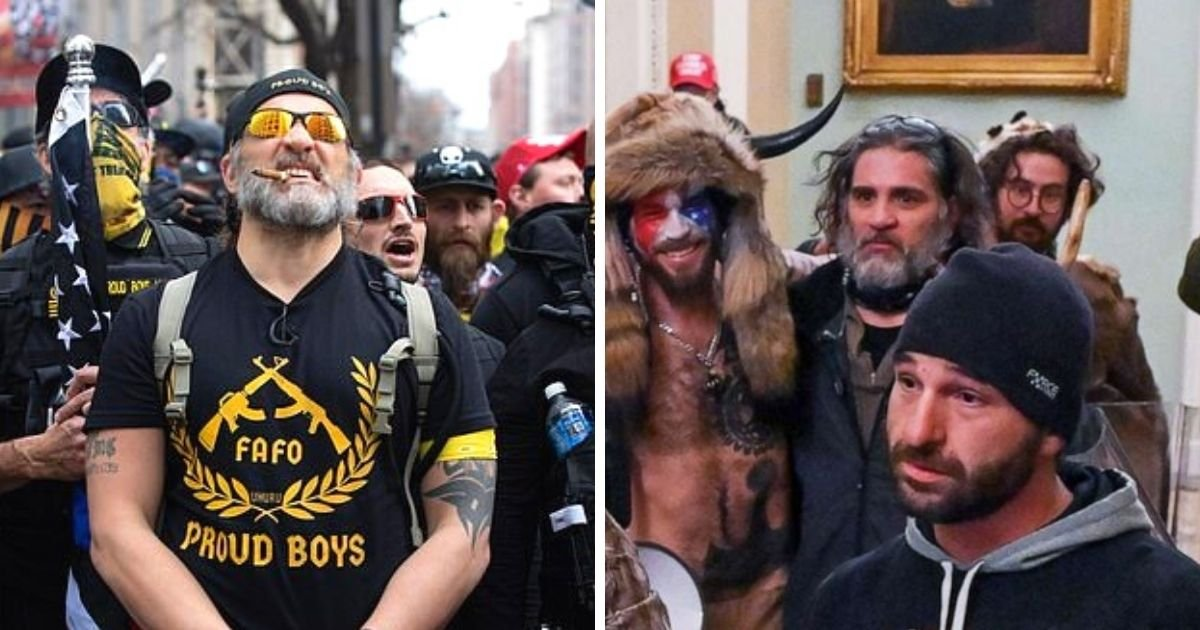 untitled design 19.jpg?resize=732,290 - Proud Boys Member Who Led Hordes Of Rioters Inside The Capitol Is Arrested