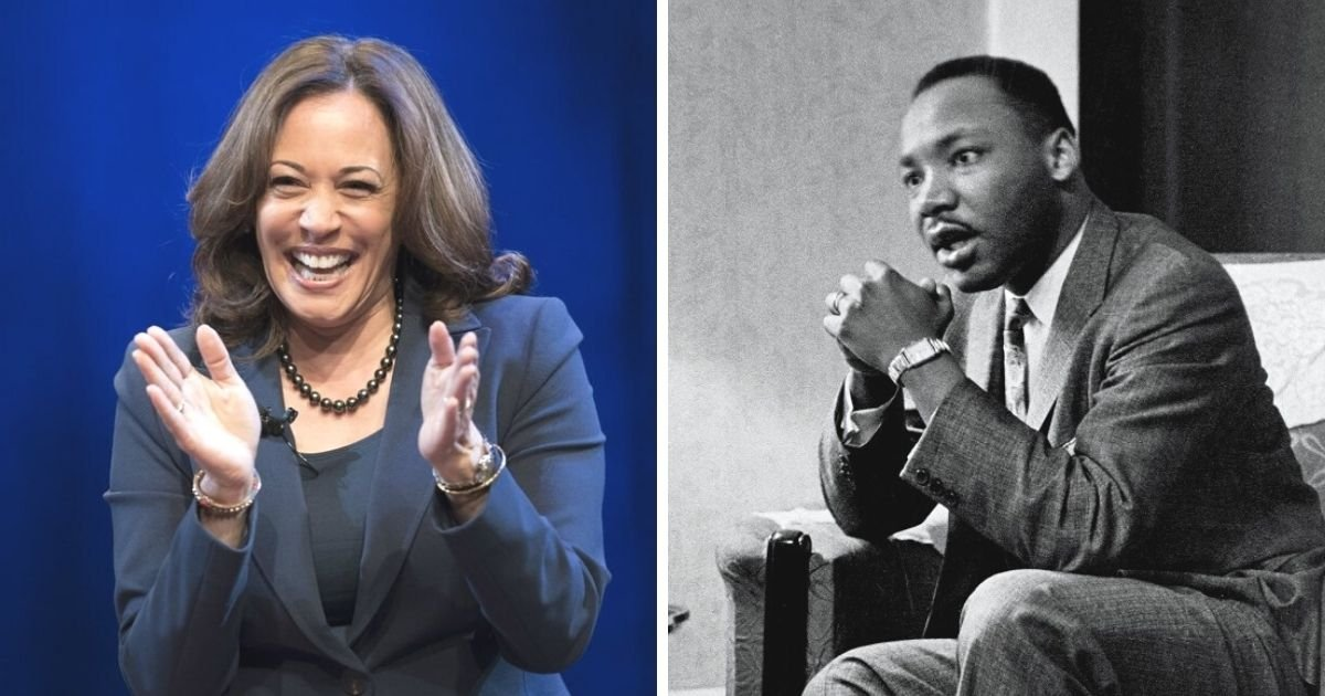 untitled design 2 3.jpg?resize=1200,630 - Kamala Harris Accused Of Plagiarizing Martin Luther King Jr.'s Anecdote In Her Interview