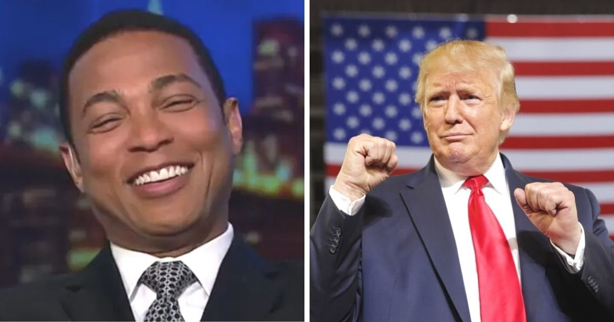 untitled design 2 7.jpg?resize=1200,630 - CNN's Don Lemon Calls President Trump The 'Biggest Snowflake Of Them All'