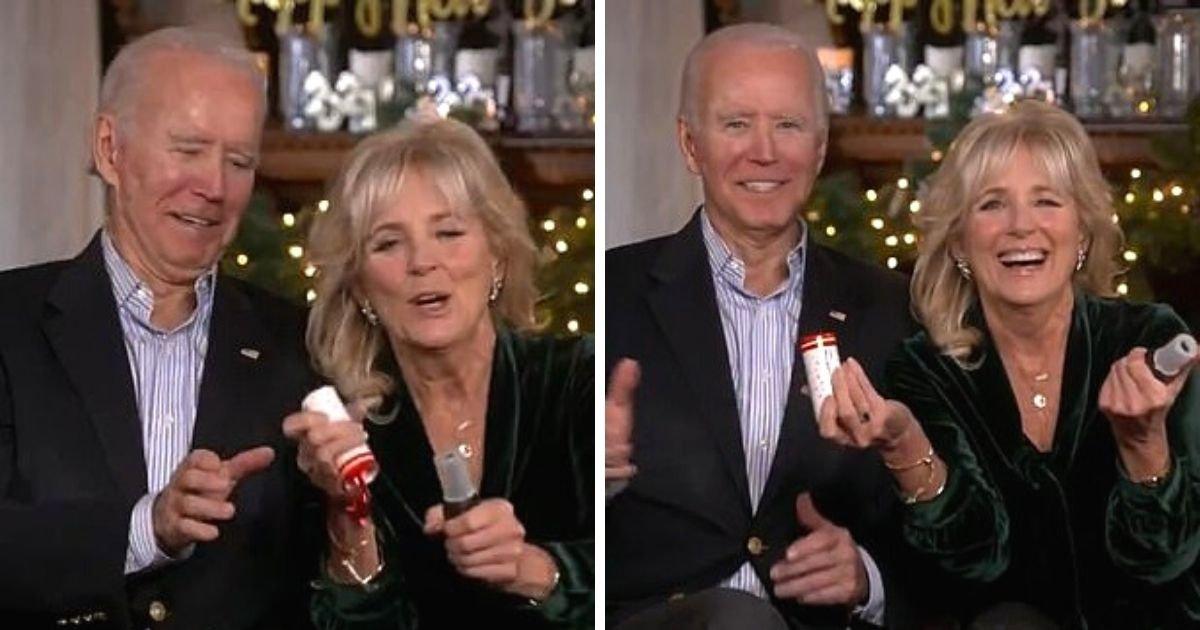 untitled design 2.jpg?resize=1200,630 - Awkward Moment Joe And Jill Biden's Confetti Cannon Fails To Work