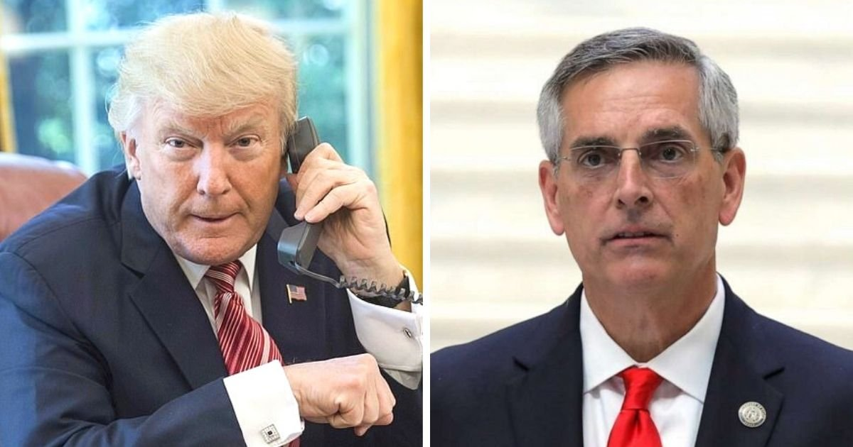 untitled design 3 1.jpg?resize=1200,630 - Trump Demands Brad Raffensperger 'Finds' Extra Votes In Leaked Phone Call With Georgia's Secretary Of State