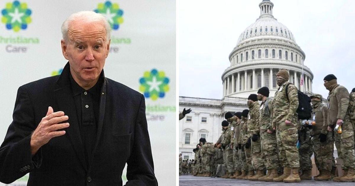untitled design 5 5.jpg?resize=1200,630 - Joe Biden Says He's 'Not Afraid Of Taking The Oath' At Capitol Despite Wednesday Insurrection