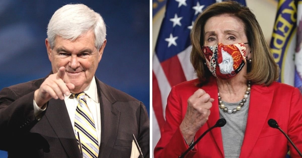 untitled design 7 10.jpg?resize=412,232 - Newt Gingrich Makes Bold Accusations As He Calls Out Nancy Pelosi Over Trump's Impeachment