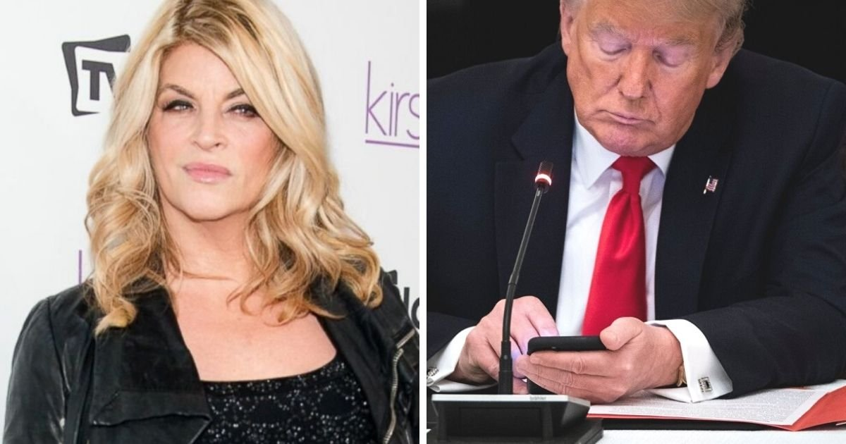 untitled design 7 3.jpg?resize=1200,630 - 'This Is Slavery!' Kirstie Alley Accuses Twitter Of Slavery After Trump Ban