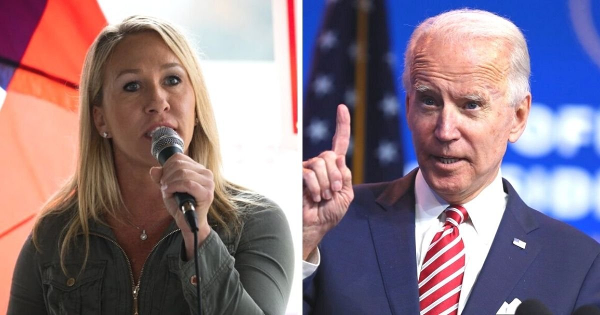 untitled design 7 6.jpg?resize=412,232 - Newly-Elected Congresswoman Plans To File Articles Of Impeachment Against Biden After He Takes Office