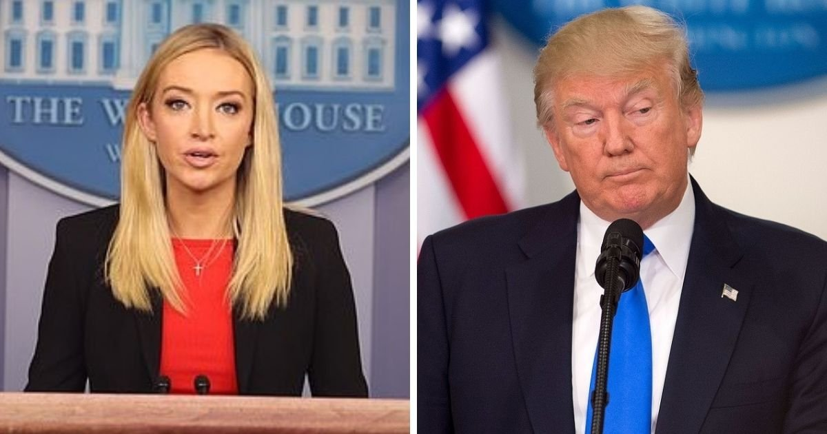 untitled design 8 1.jpg?resize=1200,630 - Trump's Spokesperson Kayleigh McEnany Condemns Violence At Capitol