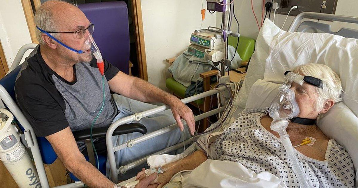 vvgsgs.jpg?resize=412,232 - Couple Battling COVID-19 Bid Final Farewell Holding Hands From Hospital Bed