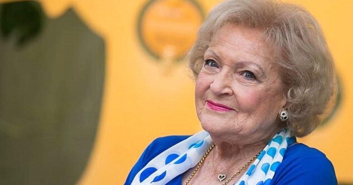 white5.jpg?resize=412,232 - The Golden Girls Star Betty White Reveals Plans For Celebrating 99th Birthday