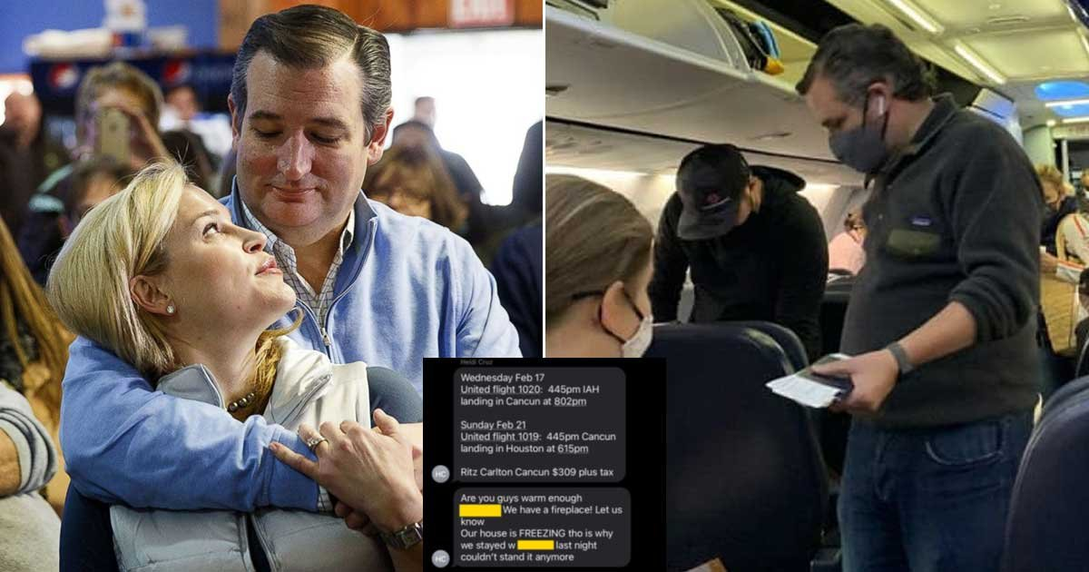1 144.jpg?resize=1200,630 - Leaked Texts Messages Reveal Heidi Cruz Invited Friends Over Cancún Vacation