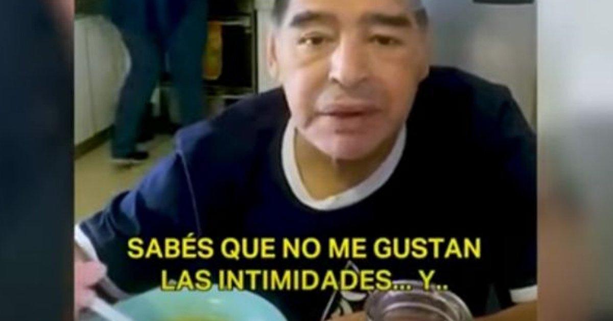 """1 31.jpg?resize=1200,630 - Publican El Último Video De Maradona Antes De Morir... """"Estoy Abollado"""""""